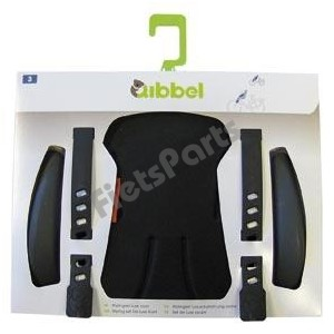 Qibbel Stylingset Voorzitje Luxe Uni Black