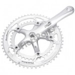 Crankstel Spieloos 170 mm 53/39 Tands (- 1 mm) 8 Speed Suntour R 80
