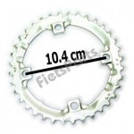 Kettingblad 36 T Shimano Deore (FC-M510) Zilver (1DS98200)