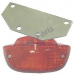 Reflector Adaptorplaat voor montage Std Reflector op Gazelle Drager