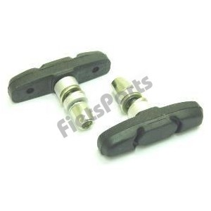 Remblokken V. Brake Tektro 60 mm Rubber (Stel)