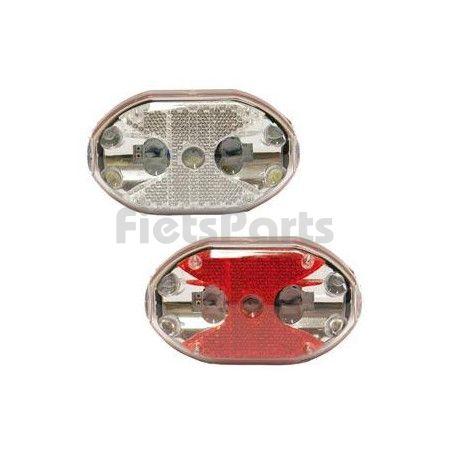 Verlichtingset LED op Batterijen Aan - Uit IKZI 5 LEDs Afneembaar