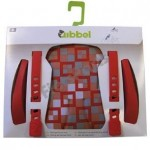 Qibbel Stylingset Voorzitje Luxe Checked Red