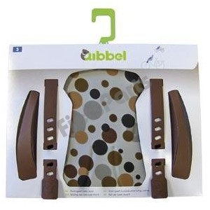 Qibbel Stylingset Voorzitje Luxe Dots Brown