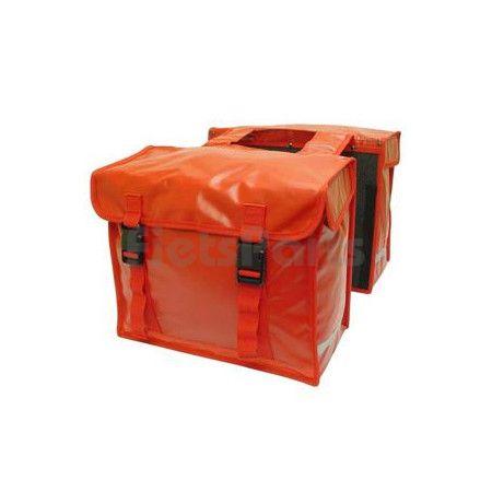 Dubbele Fietstas New Looxs Bisonyl 030L Red Inh. 46 Ltr