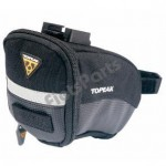 Zadeltas Topeak Aero Wedge Pack met Quick-Click  Small Zwart
