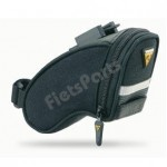 Zadeltas Topeak Aero Wedge Pack met Quick-Click Medium Zwart