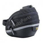 Zadeltas Topeak Wedge Pack II met Quick-Click  Medium Zwart