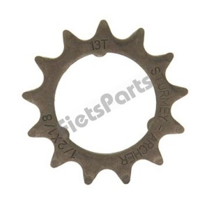 Achtertandwiel Opsteek 13 tands Sturmey Archer Vlak 1/8 (Std. Fietsketting)