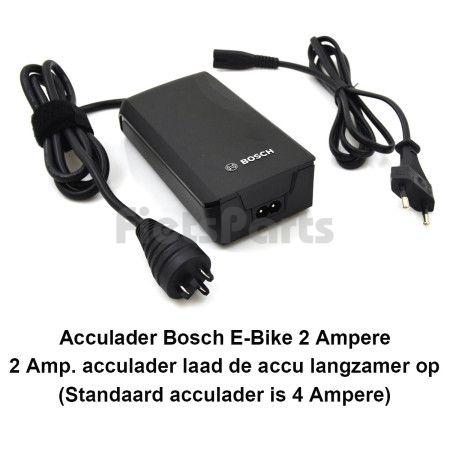 Bosch Acculader Elektrische Fiets Compact 2 Amp.  Active / Performance Line