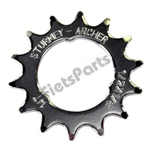 Achtertandwiel Opsteek 14 tands Sturmey Archer Vlak 1/8 (Std. Fietsketting)