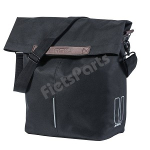 Enkele Fietstas - Shopper Basil City Shopper Black Inh. 14-16 Ltr