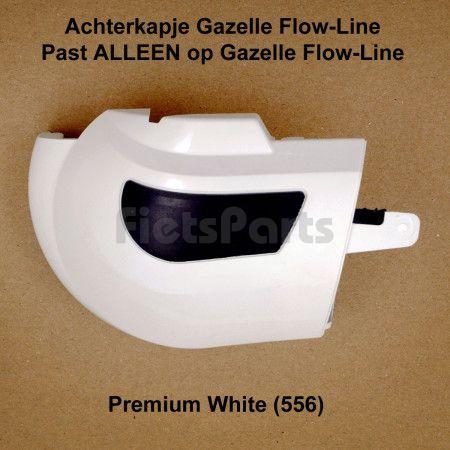 Gazelle Flowline II Kettingkast Achterkapje Premium White (556)