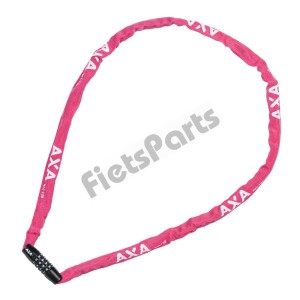 Ketting Cijferslot Axa Rigid  Roze Security Level 3 (120cm x 3,5mm)