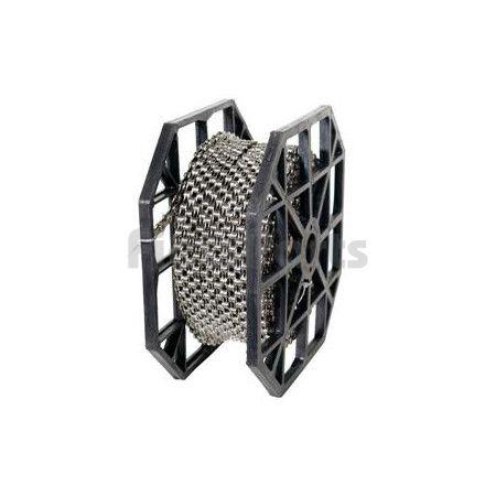 Fietsketting KMC Z1 Wide Bruin 1/2 x 1/8  Rol 50 Meter met 40 Verbindingsschakels