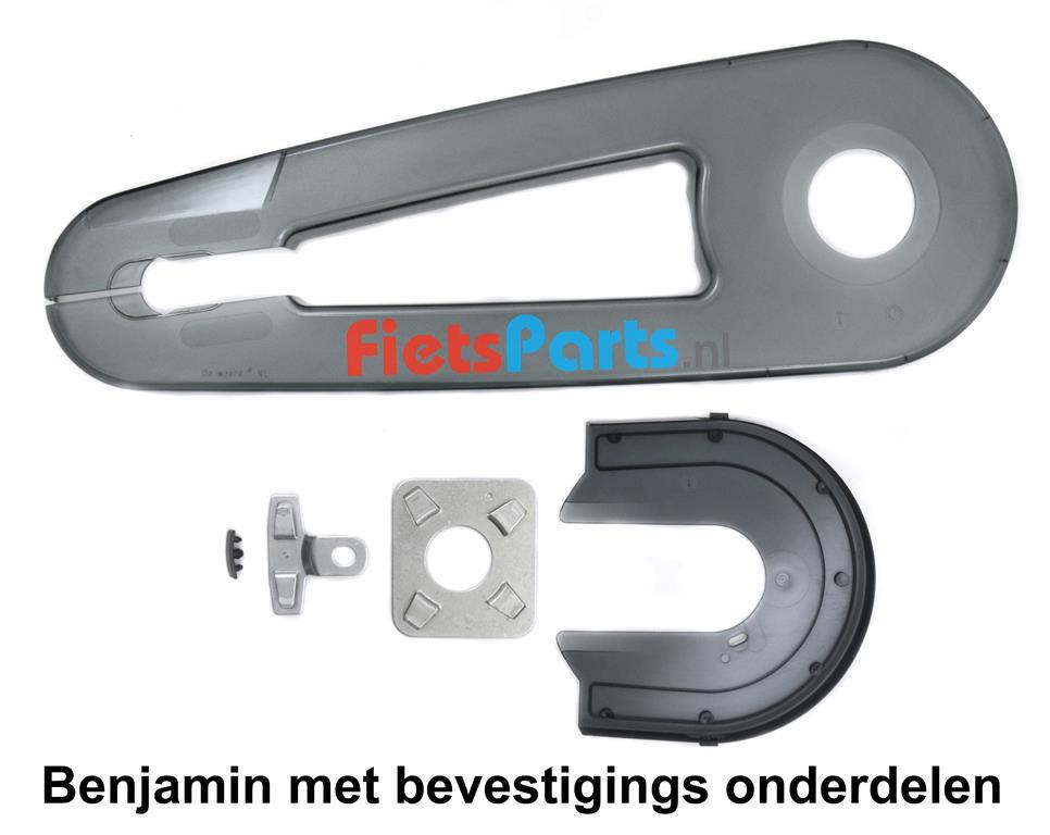 AXA Benjamin kettingscherm kinderfiets met bevestigingsmateriaal
