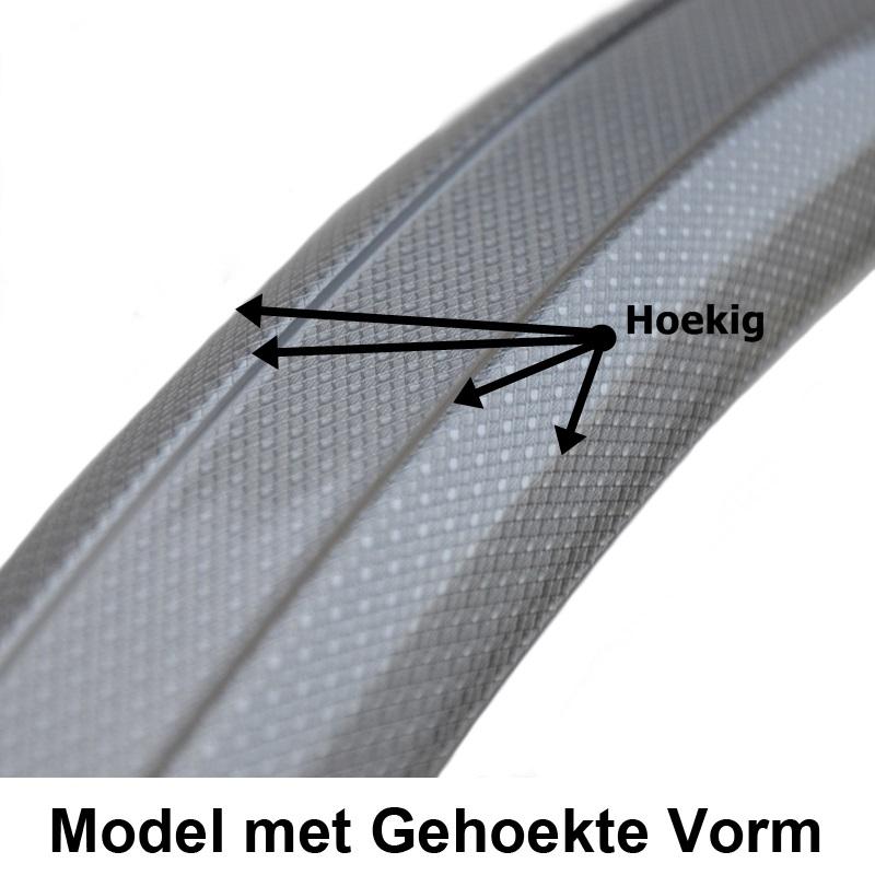 Gazelle SKS Kunststof spatbord in gehoekte vorm