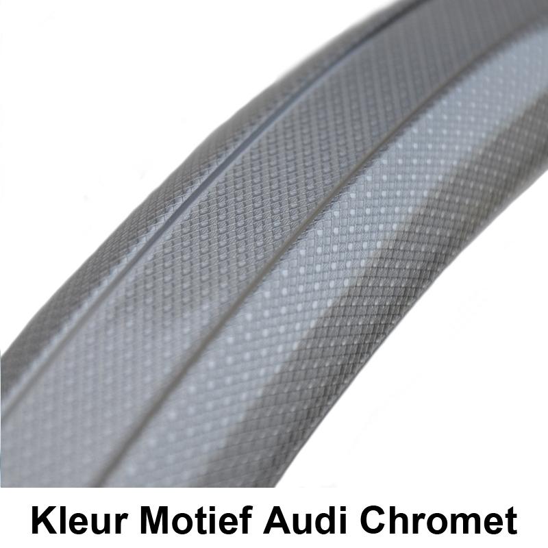 Gazelle SKS  Kunststof Spatbord Kleur Audi Chromet