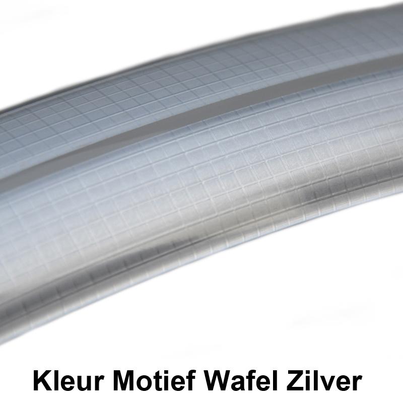 Gazelle Kunststof Spatbord Kleur Zilver Wafel